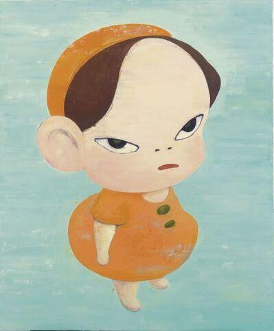 Yoshitomo Nara, 'Yellow in Blue', 1994