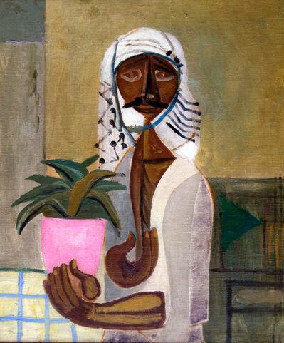 Jewad Selim, 'Untitled (The Gardener)', ca. 1950