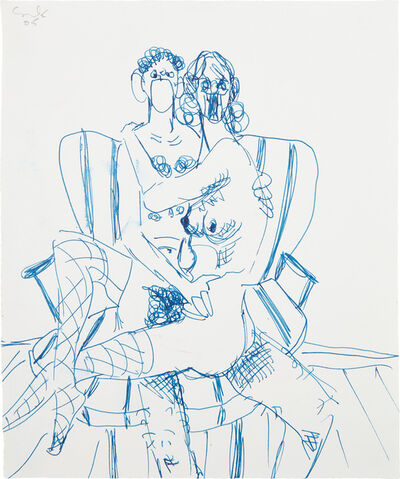 George Condo, 'Couple Study', 2005