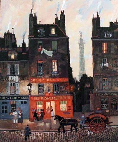 Michel Delacroix, 'Dans le quartier de la Bastille'