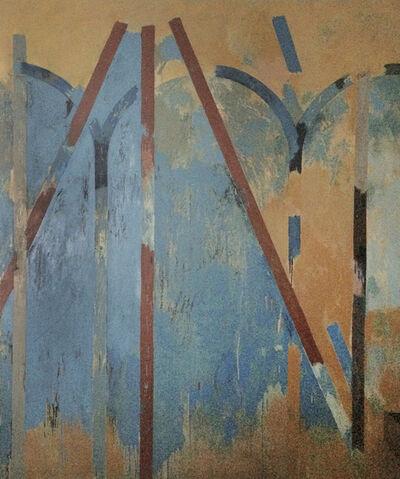 Louis Cane, 'Le Manteau de la Vierge', 1977