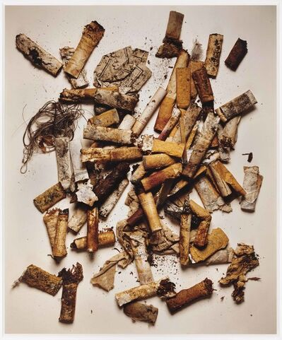 Irving Penn, 'Cigarettes, Street findings, New York', 1999