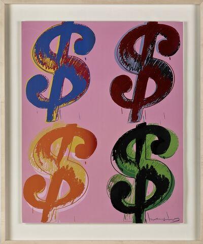 Andy Warhol, '$ (4) F&S II.282', 1982
