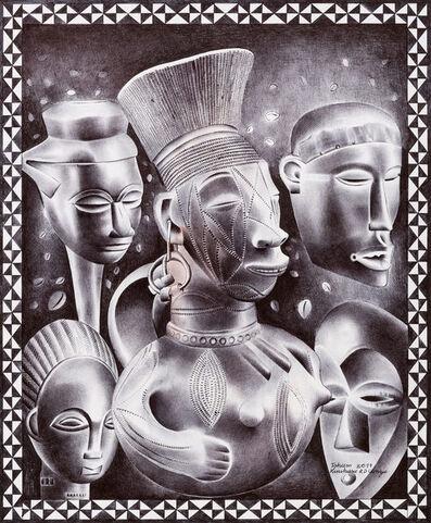 Tsham, 'Le vase Mangbetu', 2017