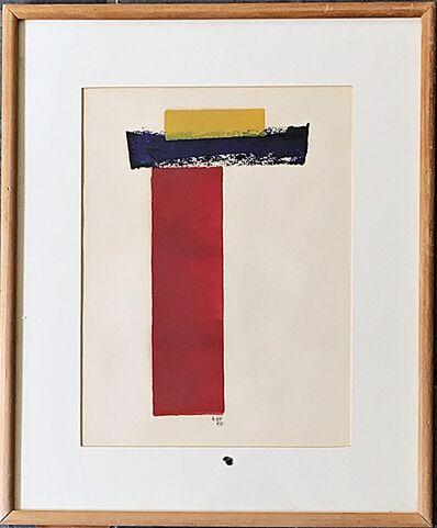 Lyman Kipp, 'Untitled painting on paper', 1970