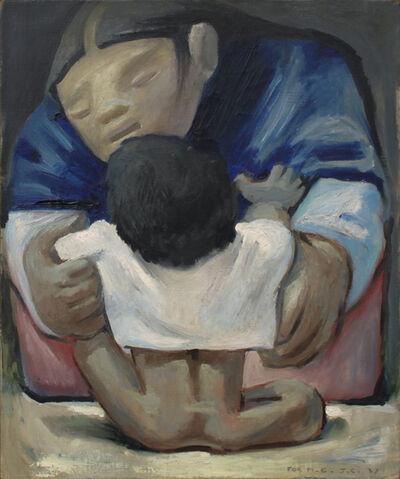 Jean Charlot, 'Madre y Nino', 1937