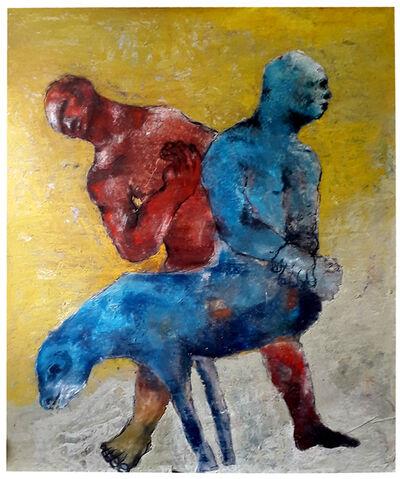 Sadikou Oukpedjo, 'Retour d'un Dieu Inconnu', 2019
