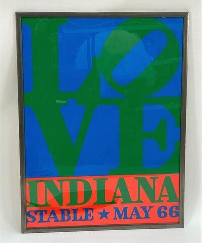 Robert Indiana, 'Love. Indiana. Stable May 66.', 1966