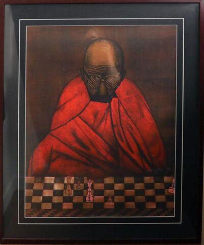 Gustavo Montoya, 'Chess Game', 1985