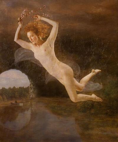 Claudia Kunin, 'Flight of Persephone (Female Nude)', 2008/2008