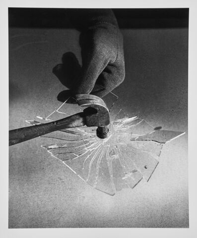 Harold Eugene Edgerton, 'Hammer Shattering Glass', 1953