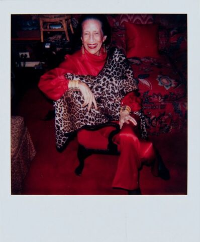 Andy Warhol, 'Andy Warhol, Polaroid Photograph of Diana Vreeland, 1983', 1983