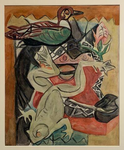 Oliver Chaffee, 'Duck, Frog, Still Life', 1935