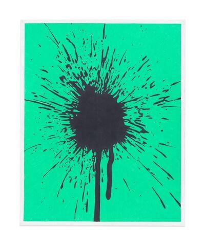Andrew Brischler, 'Black/Green Splatter Study', 2017