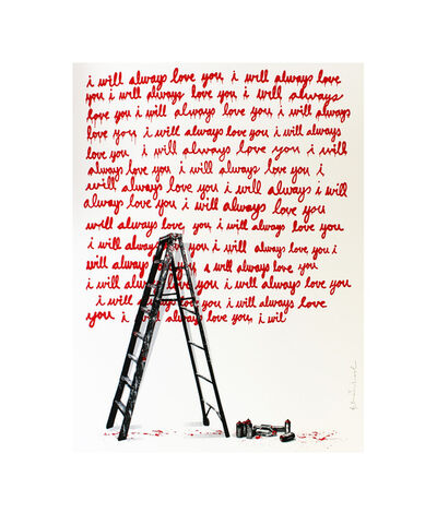 Mr. Brainwash, 'I Will Always Love You', 2014