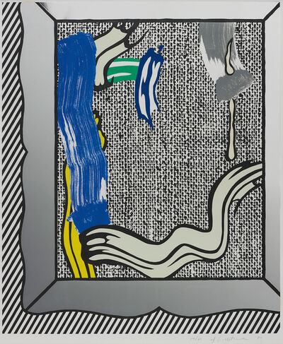 Roy Lichtenstein, 'Painting on Canvas, from Paintings series', 1984