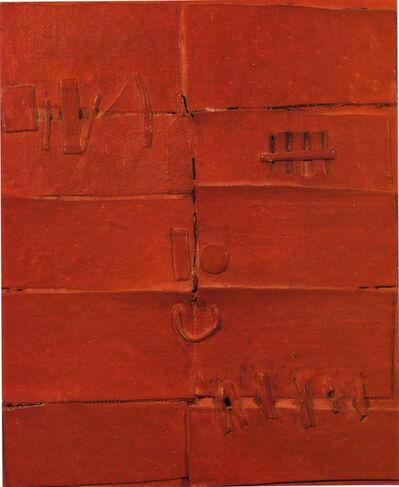 Josep Navarro Vives, 'Puerta roja (Red door)', 1961