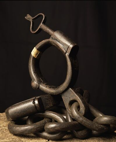 Andres Serrano, 'Iron shackle, (Torture)', 2015