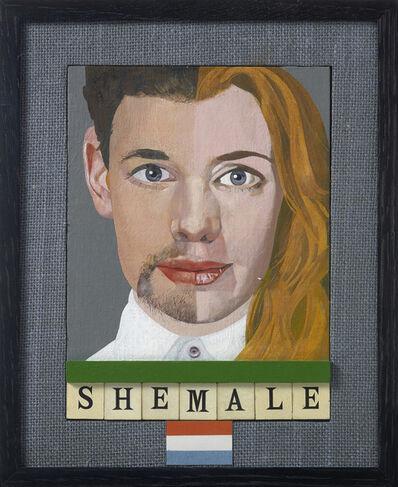 Peter Blake, 'Shemale', 2015
