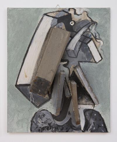 Wolf Vostell, 'Berlinerin', 1987