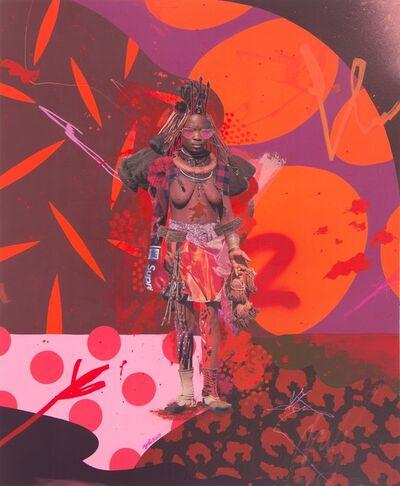 Yoh Nagao, 'Wonder Tribe Nambia Himba Lady', 2017
