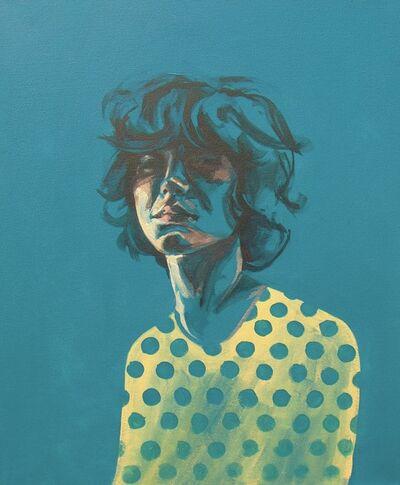 Flo Lee, 'Spotted, original signed great reviews vibrant portrait ', 2019