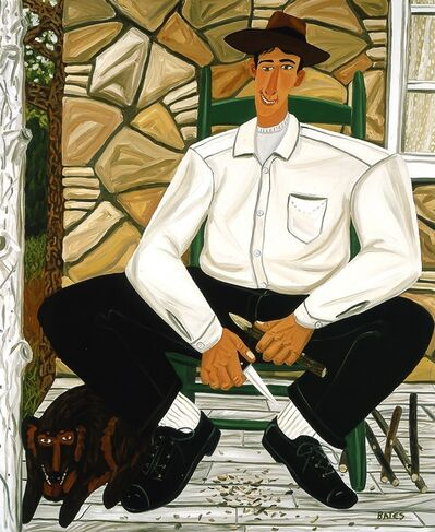 David Bates, 'The Whittler', 1983