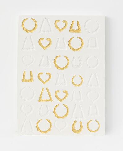 LaKela Brown, 'Sunken Relief Still Life with Gold', 2020
