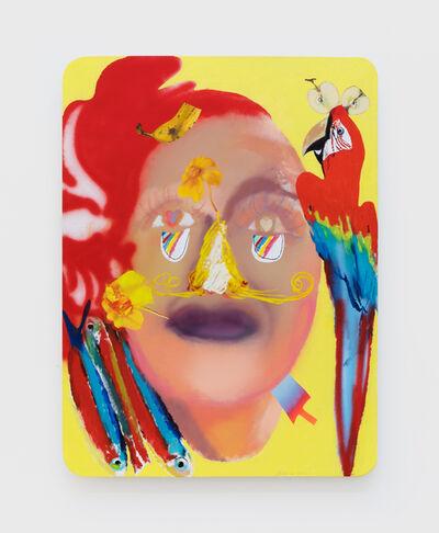 Alessandro Pessoli, 'Face in Love', 2020