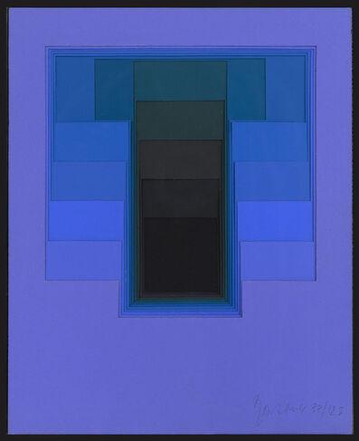 Karl Gerstner, 'Color Sounds Blue II', 1973