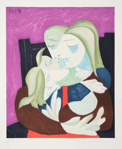 Pablo Picasso, 'Femme et Enfant Enlaces', 1973