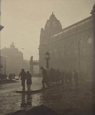 Josef Sudek, 'Morning in the Na Poříčí Street', 1919