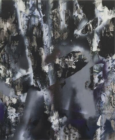 Chris Trueman, 'FMNR (black with white and purple)', 2019