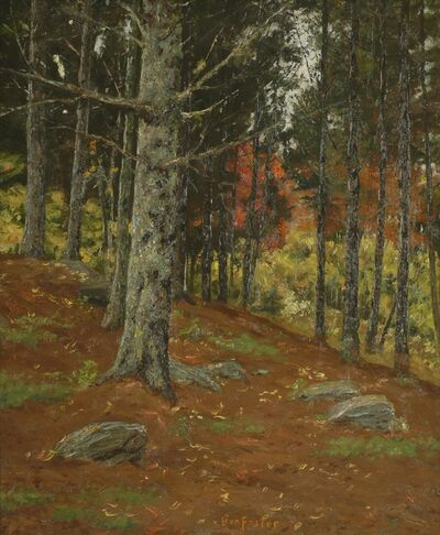 Ben Foster, 'Hillside Trees', ca. 1910