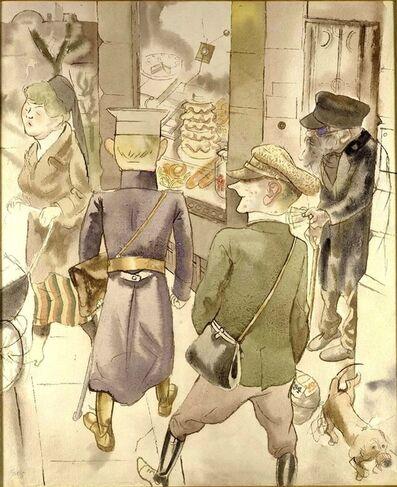 George Grosz, 'The Blind Man', ca. 1924