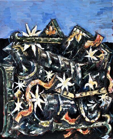 "Miroslav Pomichal, '""Still Life with Armour""', 2019"