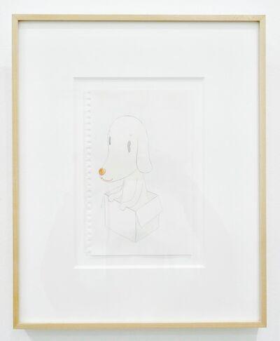 Yoshitomo Nara, 'Untitled (Dog in Box)', ca. 1998