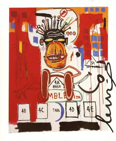 Jean-Michel Basquiat, 'God Monkey', 1986