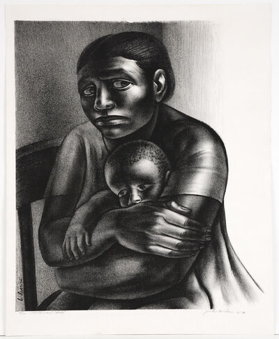 John Woodrow Wilson, 'Mother and Child', 1952