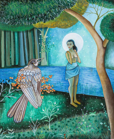 Alicia Leal, 'Baño de luna / Moon Bath', 2011