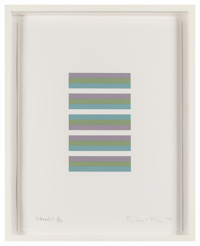 Bridget Riley, 'Intervals 1', 2019