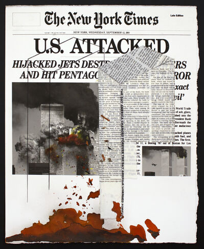 Soledad Salamé, 'Layered News, Attack', 2019