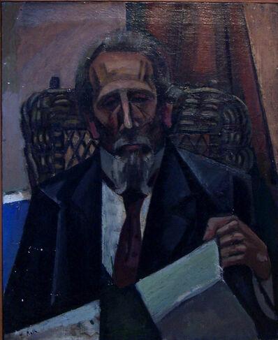 Alfréd Réth, 'Portrait of the Musician Mazzi', 1912