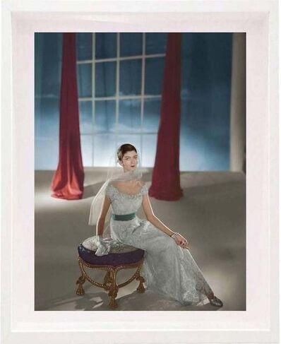 Horst P. Horst, 'Carmen Dell'Orefice, Dress by Hattie Carnegie, Small size: Framed', 1947