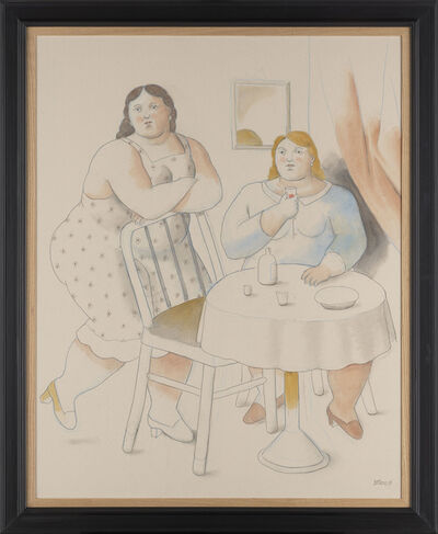 Fernando Botero, 'Two Women', 2019