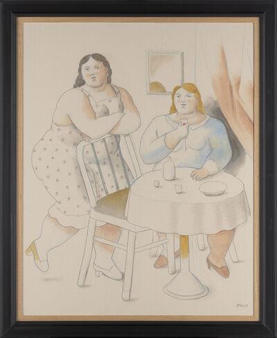 Fernando Botero, 'Two Women', 2019