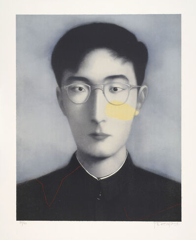 Zhang Xiaogang, 'Bloodline: Comrade (Brother)', 2006