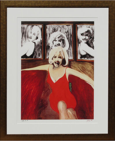 James Gill, 'Marilyn in Red', 2008