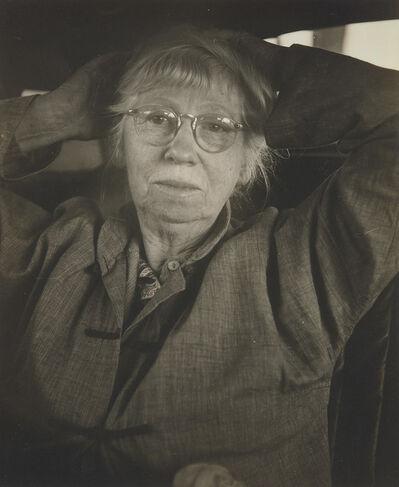 Consuelo Kanaga, 'Imogen Cunningham', circa 1952