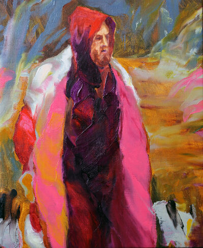 Gaël Davrinche, 'The pink coat', 2017